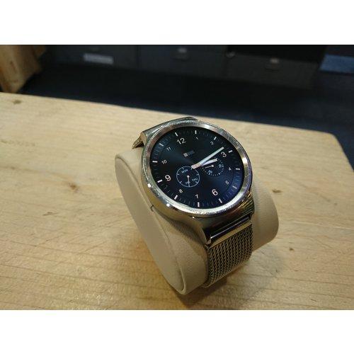 Huawei Huawei Watch Classic W1 - Zilver - met stalen mesh band