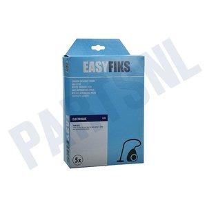 Easyfiks Stofzuigerzak E22 UZ 920-925-930-945 Electrolux Papier 5 stuks Nw Stijl