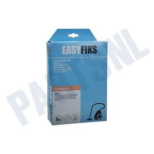 Easyfiks Stofzuigerzak Sweefty + Passion LG3440 Micro Fleece 8 stuks Nw Stijl