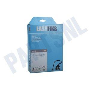 Easyfiks Stofzuigerzak H63/64 Sprint TW17 Micro Fleece 8 stuks Nw Stijl