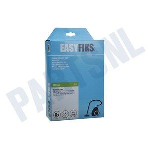 Easyfiks Stofzuigerzak YC-JC 861-Solac 901-903 Micro Fleece 8 stuks Nw Stijl