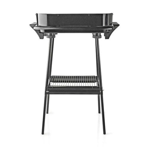 Elektrische Barbecue   Rechthoekig   46 x 28 cm   2000 W