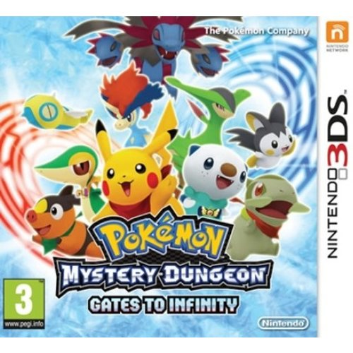 Nintendo 3DS Pokémon Mystery Dungeon - Gates to Infinity