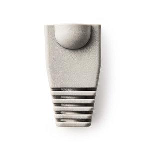 Trekontlasting | Voor RJ45 Netwerkconnectors - 10 Stuks | Grijs