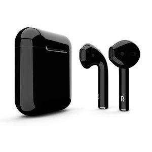Draadloze Bluetooth Oordopjes met draadloze oplaadcase 1:1 - Zwart