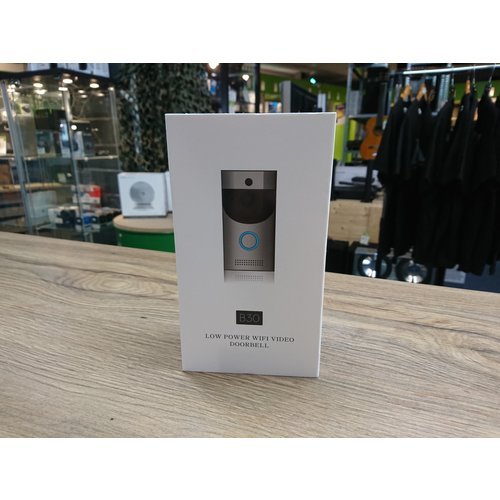 Video Deurbel WiFi IP65 - Grijs