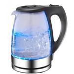 Glazen waterkoker met led 1.7L - Blauw
