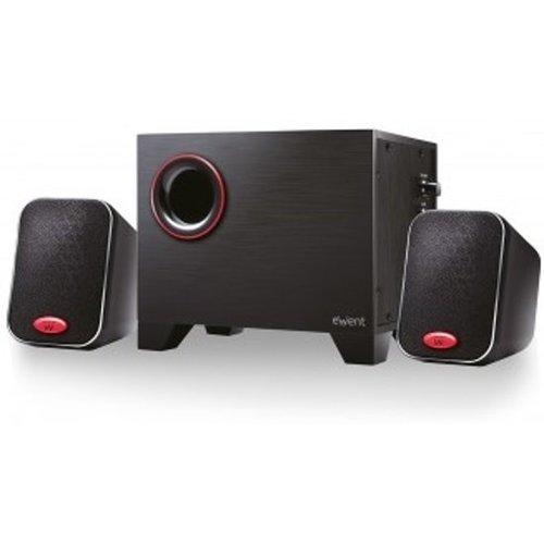 Ewent EW3505 luidspreker set 2.1 kanalen 15 W - Zwart