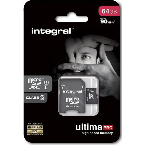 Integral Micro SDXC UltimaPro UHS-I Class 10 flashgeheugen