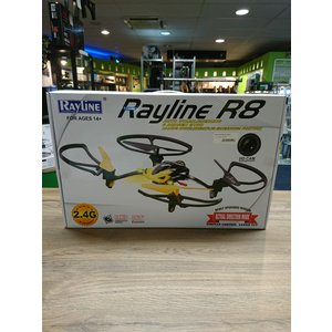 RC Quadrocopter Rayline R8 Wi-Fi 2,4 GHz 4-kanaals drone - Geel