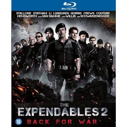 (Blu-ray) - The Expendables 2