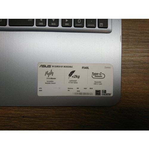 asus Asus full HD 15,6 inch laptop - F540LA-DM096T