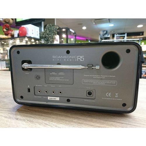 Scansonic R5 Tafelradio CD speler|FM radio - Zwart