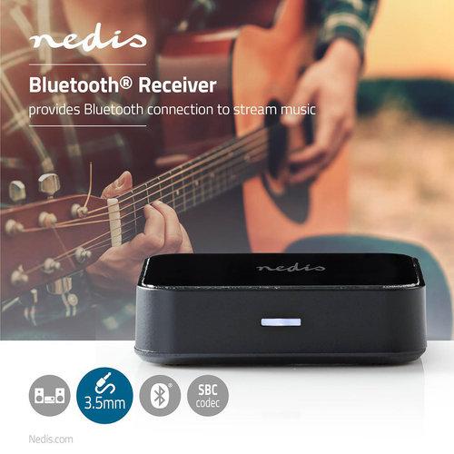 Draadloze audio-ontvanger | Bluetooth® | 3,5 mm uitgang | Zwart