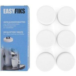 Easyfiks Ontkalkingstabletten koffiezetapparaten - 6x