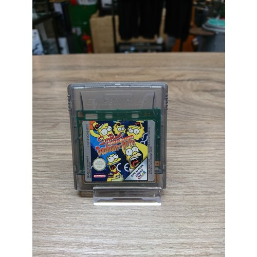 Gameboy - the simpsons night of the living treehouse of horror