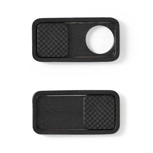 Privacy-cover | Snel aan te brengen | 3-pack | Zwart
