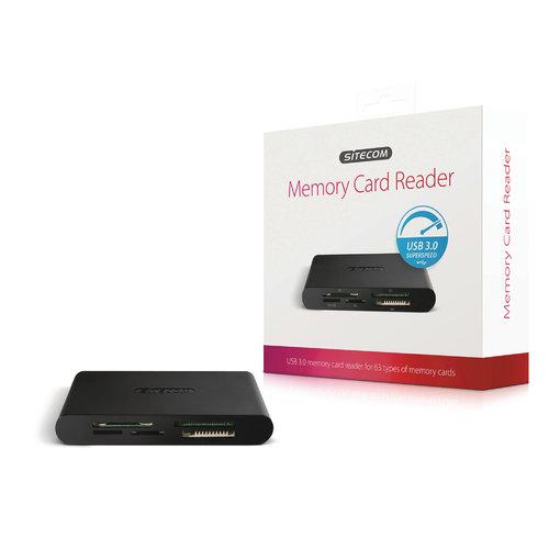 Sitecom Kaartlezer Alles-in-1 USB 3.0 - Zwart