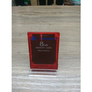 Playstation 2 memory card 8MB - Rood