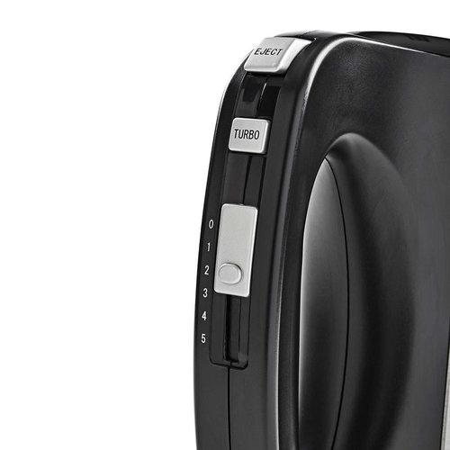 Handmixer | 350 W | 5 snelheden | Roestvrij staal