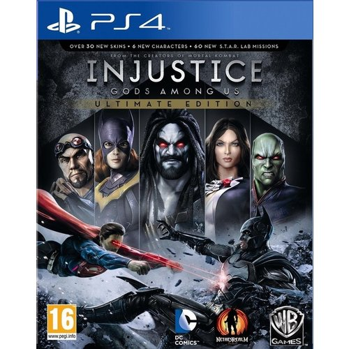 PS4 - Injustice - Gods Among Us Ultimate Edition