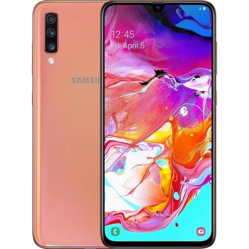 Samsung Galaxy A70 128GB - Koraal (Refurbished)