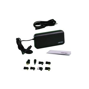 Universele Laptop AC Adapter met 8 tips - Zwart