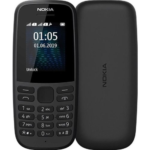 Nokia 105 - Zwart