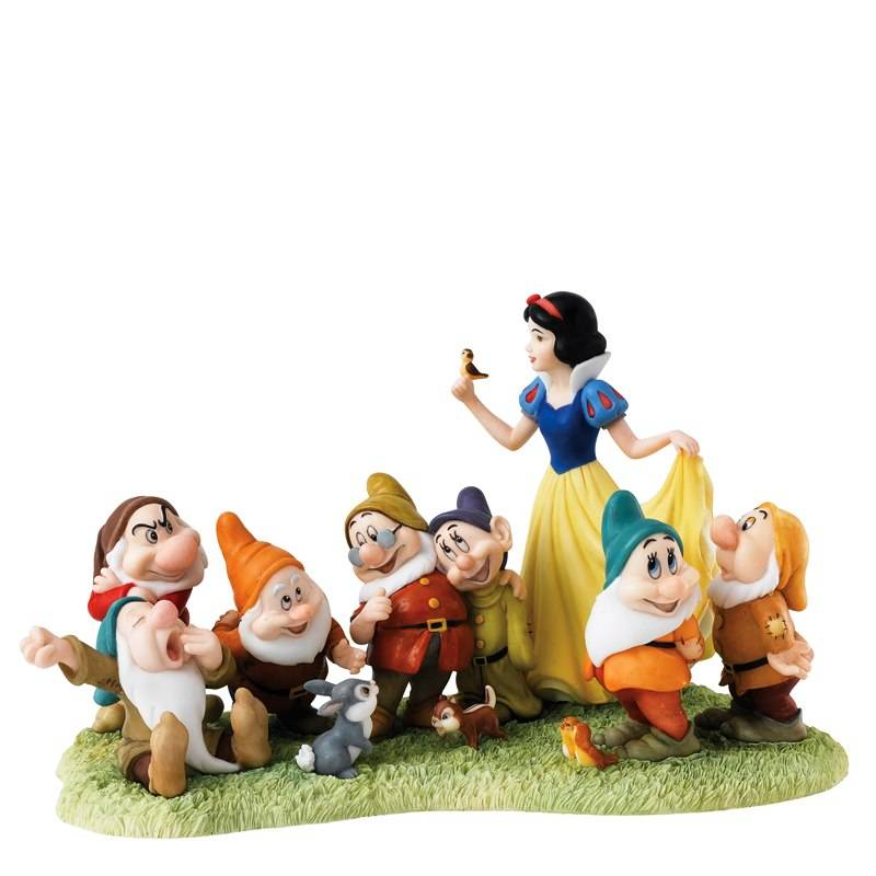 Snow White & the Seven Dwarfs (The Fairest Story Tale) - Friends 2
