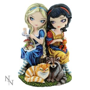Jasmine Becket-Griffith Alice and Snow White
