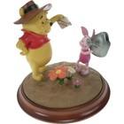 Disney Sculpture Pooh & Piglet