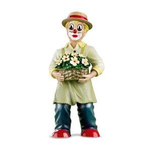 Gilde Clowns Clown met bloemmand