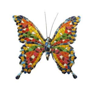 Barcino Design Vlinder (Mozaiek effect)