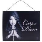 Anne Stokes Gothic Prayer Metal Sign