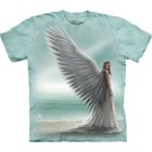 The Mountain T Shirt Spirit Guide Angel (Anne Stokes)