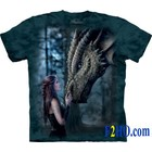 The Mountain T Shirt Once Upon a Time Dragon (Anne Stokes)