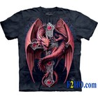 The Mountain T Shirt Gothic Guardian Dragon (Anne Stokes)