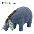 Classic Pooh (BO) Eeyore Knitted Wobble Head