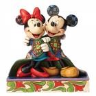 Disney Traditions Mickey & Minnie (Warm Wishes)