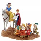 Disney Enchanting Snow White, Prince & Seven DwarfsJoyful (Farewell)