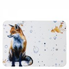 Sarah Stokes Art Fox Placemat (Set 4)
