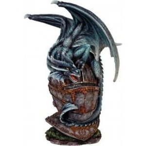 Studio Collection Blue Dragon on  Helmet