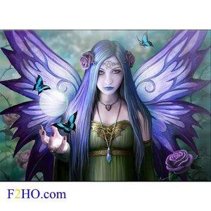 Anne Stokes Glass Picture Mystic Aura