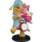 Disney Sculpture Pooh & Piglet (Klok)