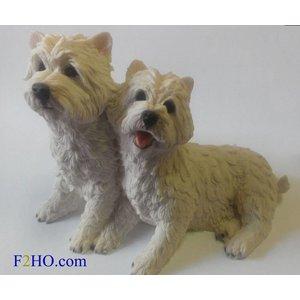 Castagna West Highland Terrier Couple