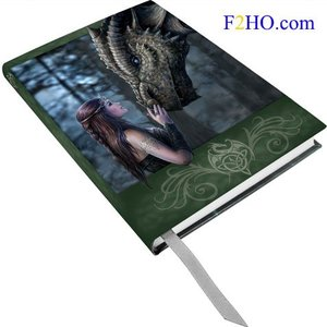 Anne Stokes Journal Once upon a Time