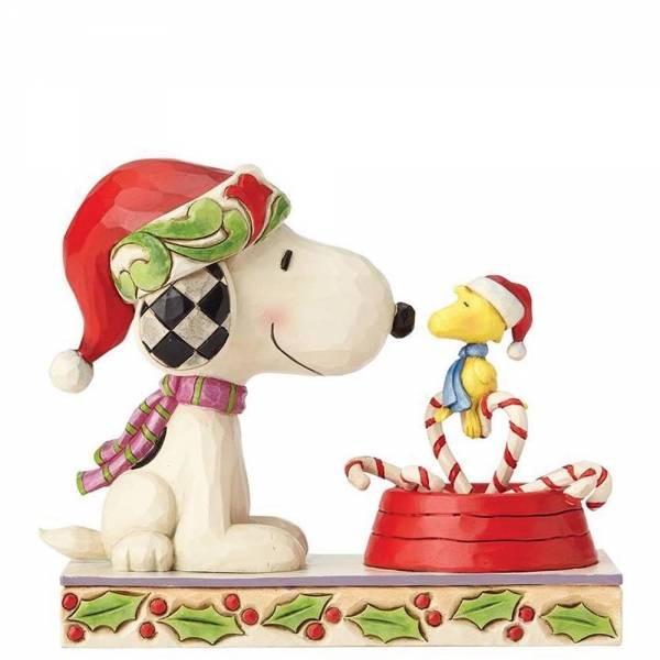 Snoopy And Woodstock Christmas.Peanuts Jim Shore Snoopy Woodstock Candy Cane Christmas