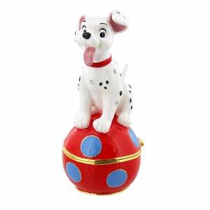 Disney 101 Dalmatians Puppy Trinket Box - Figurine