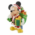 Disney Santa Mickey Mouse Trinket Box - Figurine