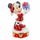 Disney Christmas Minnie Mouse Trinket Box - Figurine